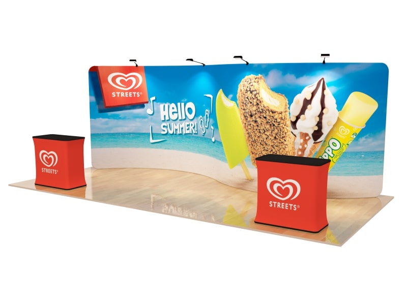 10 x 20 Booth Combo O
