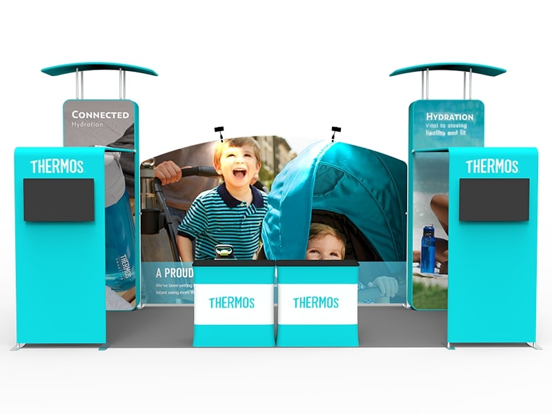 10 x 20 Booth Combo T