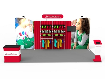 10 x 20 Booth Combo L
