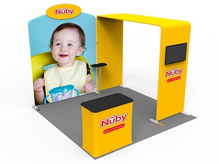 Tradeshow Displays - 10 x 10  Booth Combo C
