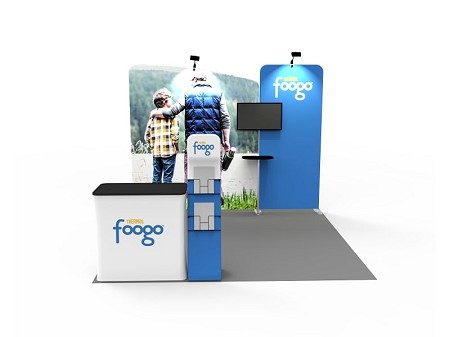 Tradeshow Displays - 10 x 10  Booth Combo H