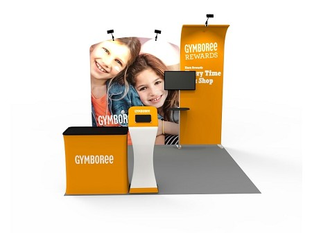 Tradeshow Displays - 10 x 10  Booth Combo J