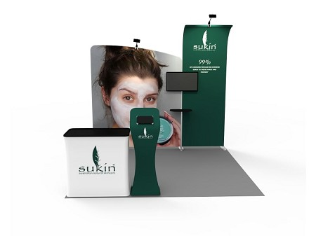 Tradeshow Display - 10 x 10  Booth Combo L