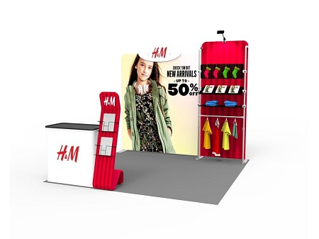 Tradeshow Display - 10 x 10  Booth Combo Q