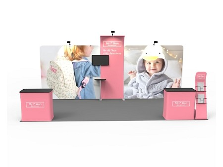 Tradeshow Display - 10 x 20 Booth Combo C