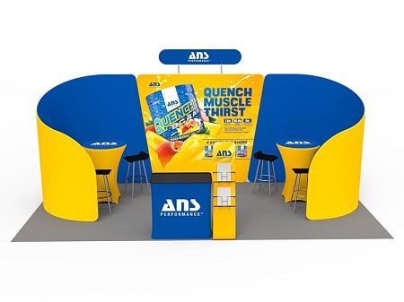 Tradeshow Display - 10 x 20 Booth Combo F