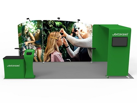Tradeshow Display - 10 x 20 Booth Combo G