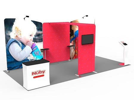 Tradeshow Display - 10 x 20 Booth Combo H