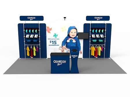 Tradeshow Display - 10 x 20 Booth Combo M