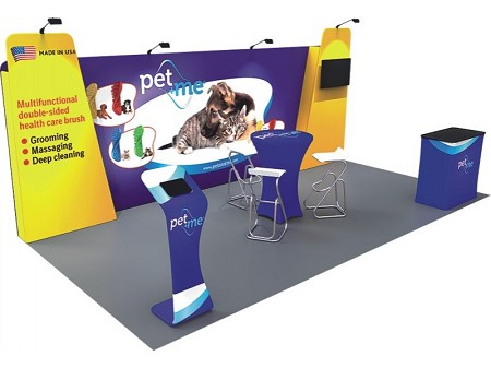 Tradeshow Display - 10 x 20 Booth Combo N