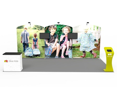 Tradeshow Display - 10 x 20 Booth Combo P