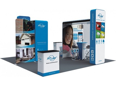 Tradeshow Display - 20 X 20 Booth Combo D