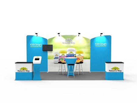 Tradeshow Display - 10 X 20 Booth Combo A