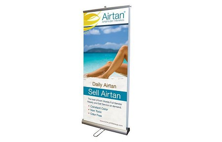 Tradeshow Displays - Double Side Banner Stand