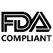 Modell Printing Face Shield PET shield meets FDA requirements under 21 CFR 177.1630. EVA filler complies with FDA regulations 21 CFR 177.1350, Paragraphs (a), (c), (d), and (e).