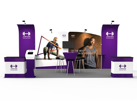 Tradeshow Display - 10 x 20 Booth Combo Q