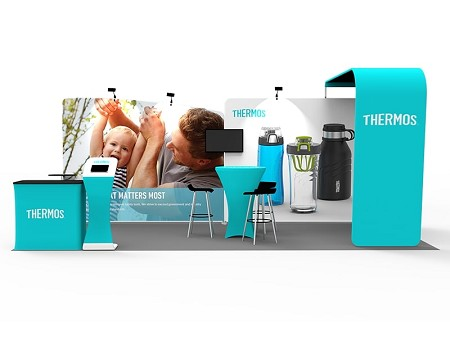 Tradeshow Display - 10 x 20 Booth Combo S