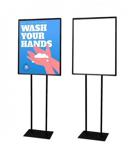 "22"" x 28"" Floor Sign Holder"