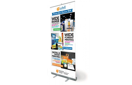 Tradeshow Displays - Roll Up Banner